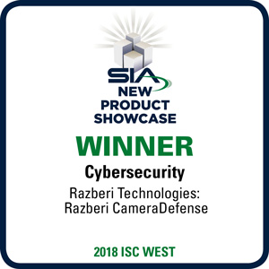 2018 SIA New Product Showcase Award